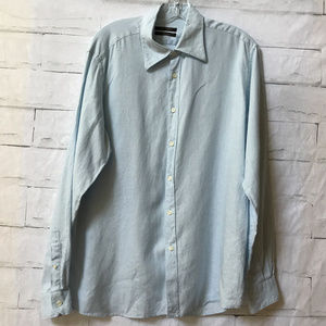 ZARA SPORT Linen Men's Shirt L